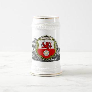 La familia de Schneider (Baviera) arma Jarra De Cerveza