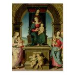 La familia de St Anne, c.1507 Postales