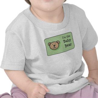 La familia de tres osos camisetas