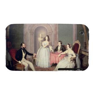 La familia del Ala de José Sigismondo del marqués iPhone 3 Case-Mate Protectores