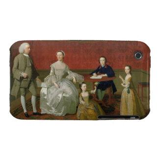 La familia del Buckley-Verraco, c.1758-60 (aceite Carcasa Para iPhone 3