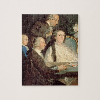 La familia del infante Don Luis de Borbon 2 Puzzle