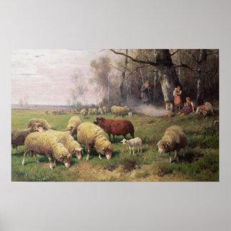 La familia del pastor póster