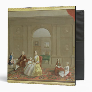 "La familia del tocino de Juan, c.1742-43 (aceite Carpeta 1 1/2"""