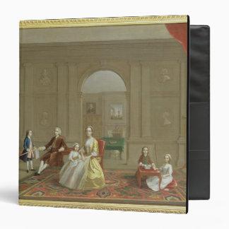 La familia del tocino de Juan c 1742-43 aceite e