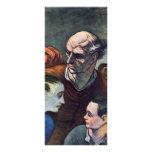 La familia en la barricada, por Daumier Honoré (B Lona