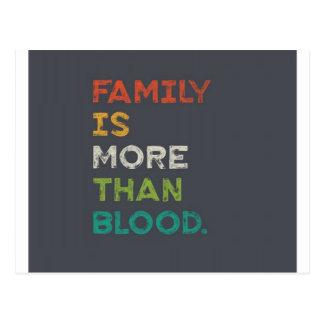 La familia es más que amor postal