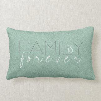 La familia es para siempre diseño de lino de Tex