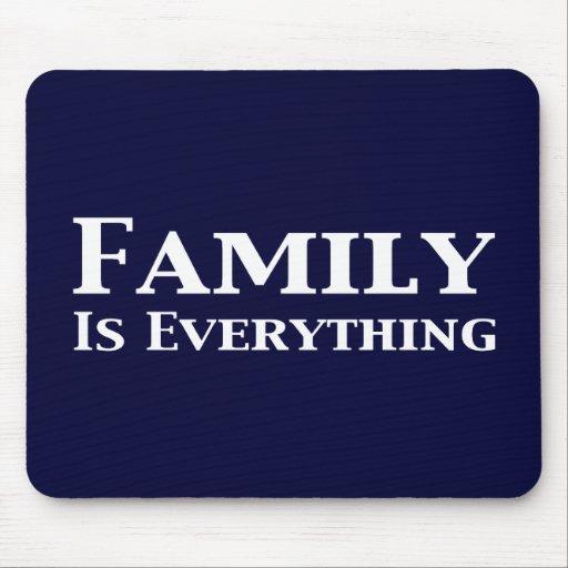 La familia es todo los regalos alfombrillas de raton