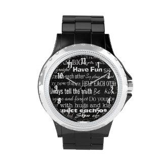 La familia gobierna el reloj personalizado