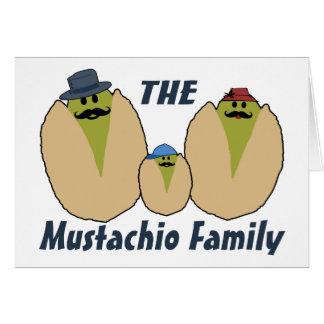 La familia italiana del Mustachio Tarjeta De Felicitación