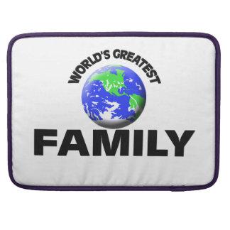 La familia más grande del mundo funda para macbooks