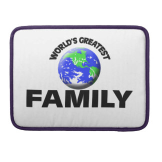 La familia más grande del mundo funda macbook pro