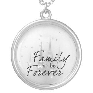 la familia puede ser forever colgante redondo