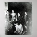 La familia real póster