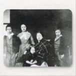 La familia real tapete de ratones