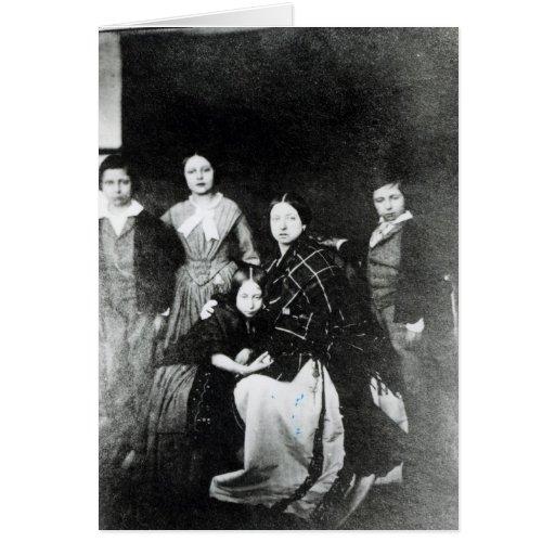 La familia real tarjeta