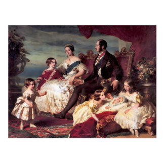 La familia real postal