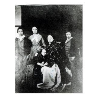 La familia real tarjeta postal