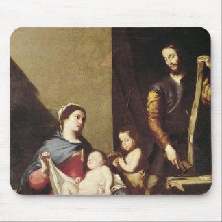 La familia santa, 1639 tapete de ratón