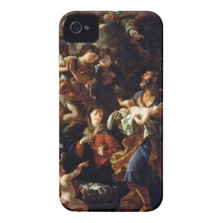 La familia santa (aceite en lona) carcasa para iPhone 4