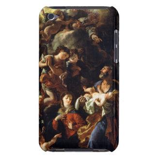 La familia santa (aceite en lona) funda Case-Mate para iPod