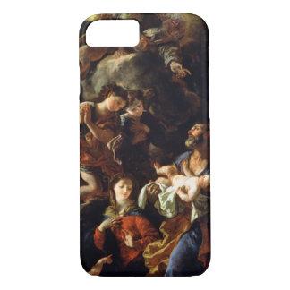 La familia santa (aceite en lona) funda iPhone 7