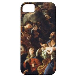 La familia santa (aceite en lona) funda para iPhone SE/5/5s