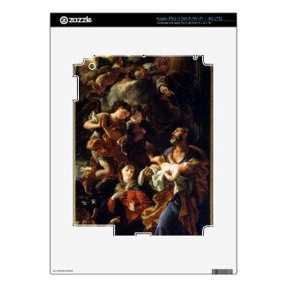 La familia santa (aceite en lona) pegatinas skins para iPad 3