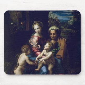 La familia santa c.1518 alfombrillas de raton