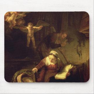 La familia santa, c.1645 tapetes de raton