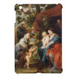 La familia santa debajo del manzano Rubens Paul iPad Mini Protectores