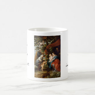 La familia santa debajo del manzano Rubens Paul Taza Clásica