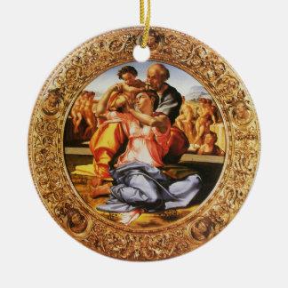 La familia santa adorno para reyes