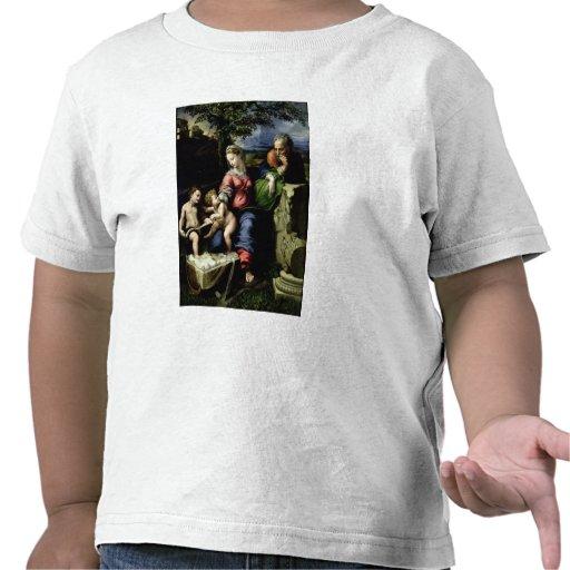 La familia santa del roble, c.1518 camiseta