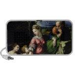 La familia santa del roble, c.1518 iPod altavoces