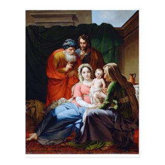 La familia santa extendida postales