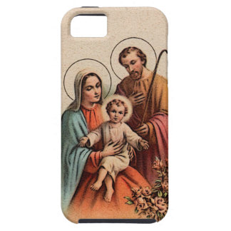 La familia santa - Jesús, Maria, y José Funda Para iPhone SE/5/5s