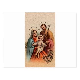 La familia santa - Jesús, Maria, y José Tarjeta Postal