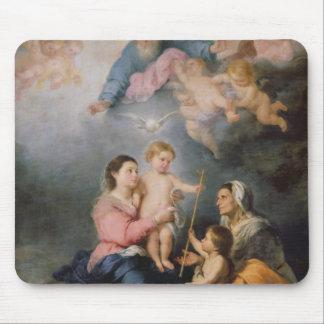 La familia santa o la Virgen de Sevilla Tapete De Ratones