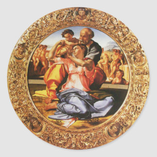La familia santa pegatina