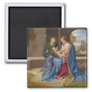 La familia santa por Giorgione Imán Cuadrado