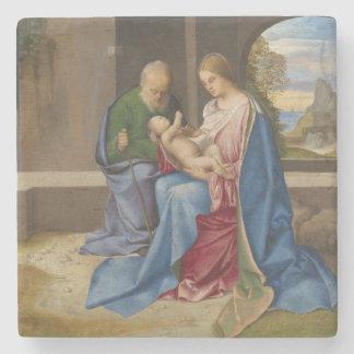 La familia santa por Giorgione Posavasos De Piedra
