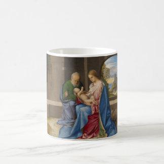 La familia santa por Giorgione Taza De Café