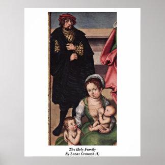 La familia santa por Lucas Cranach (i) Impresiones