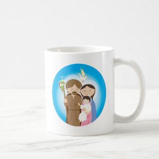 La familia santa taza de café