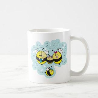 La famille d'abeille / Bee Family Coffee Mugs