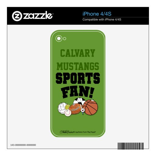 La fan de deportes ávida se divierte caracteres de iPhone 4S skins