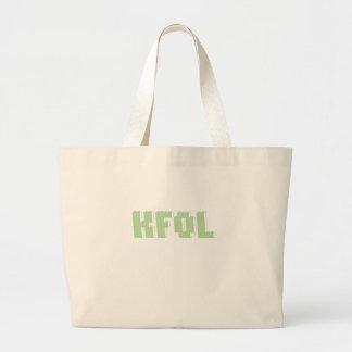 La fan del niño de KFOL de ...... cerca modifica m Bolsa Tela Grande