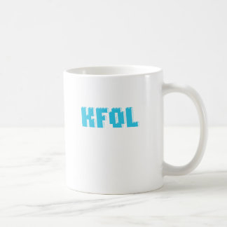 La fan del niño de KFOL de ...... cerca modifica Taza Básica Blanca